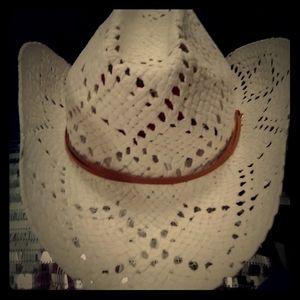 🌟on hold🌟White Straw Cowboy Hat